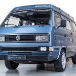 Volkswagen Transporter blauw-
