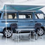 Volkswagen Transporter blauw-8684