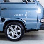 Volkswagen Transporter blauw-8727