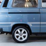 Volkswagen Transporter blauw-8728