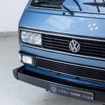 Volkswagen Transporter blauw-8732