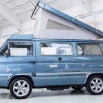 Volkswagen Transporter blauw-8739
