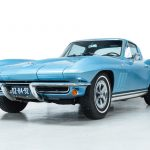 Chevrolet Corvette StingRay blauw-