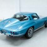 Chevrolet Corvette StingRay blauw-5228