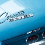 Chevrolet Corvette StingRay blauw-5230