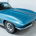 Chevrolet Corvette StingRay blauw-5240