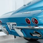 Chevrolet Corvette StingRay blauw-5242