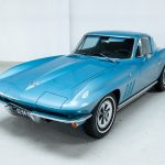 Chevrolet Corvette StingRay blauw-5263