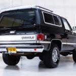 Chevrolet Silverado zwart-