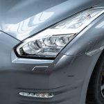 Nissan GTR grijs-5118