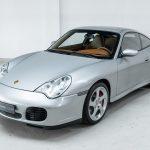 Porsche 996 Carrera 4S zilver-5308