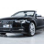 Audi S5 cabrio zwart-