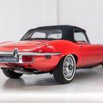 Jaguar E-Type cabrio rood-2074
