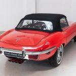 Jaguar E-Type cabrio rood-2075