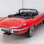 Jaguar E-Type cabrio rood-2081