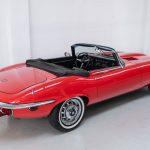 Jaguar E-Type cabrio rood-2099