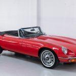 Jaguar E-Type cabrio rood-2100