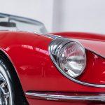 Jaguar E-Type cabrio rood-2103