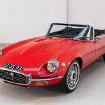 Jaguar E-Type cabrio rood-2107