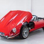 Jaguar E-Type cabrio rood-2114