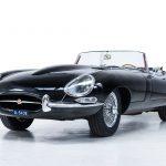 Jaguar E-Type zwart-