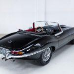 Jaguar E-Type zwart-7780