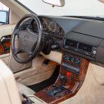 Mercedes SL500 blauw-4444