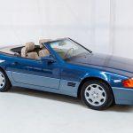 Mercedes SL500 blauw-4447