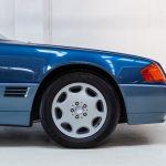 Mercedes SL500 blauw-4448