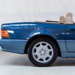 Mercedes SL500 blauw-4449