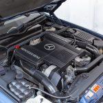 Mercedes SL500 blauw-4450