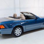Mercedes SL500 blauw-4452