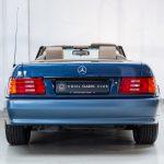 Mercedes SL500 blauw-4453