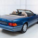 Mercedes SL500 blauw-4454