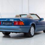 Mercedes SL500 blauw-4456