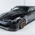 Nissan GTR zwart-4664
