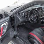 Nissan GTR zwart-4701