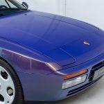 Porsche 944 cabrio paars-4533