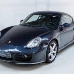 Porsche Cayman S grijs-4860
