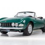 Fiat Dino cabrio groen-