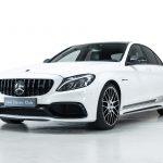 Mercedes C63 AMG wit-
