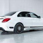 Mercedes C63 AMG wit-0902