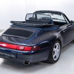 Porsche 964 cabrio blauw-1805