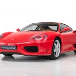 Ferrari 360 Modena rood-