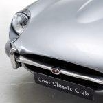 Jaguar E-Type zilver-6166