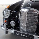 Mercedes 220S cabrio zwart-8489