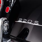 Mercedes 220S cabrio zwart-8503
