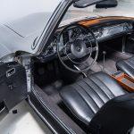 Mercedes 280SL zilver-1915
