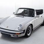 Porsche 911 Carrera cabrio grijs-8395