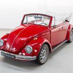 Volkswagen Kever cabrio rood-8349